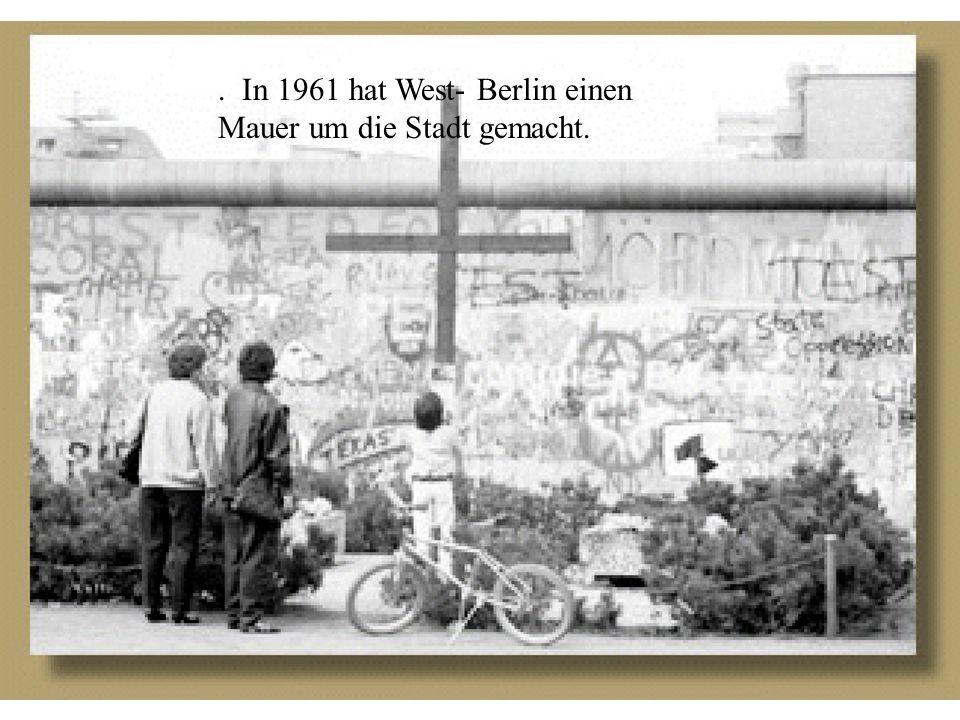 Mit welchen anderen Länder waren die Deutche Demokratiche und die Bundesrepublik Deutschland politisch und wirtschaftlich verbunden?