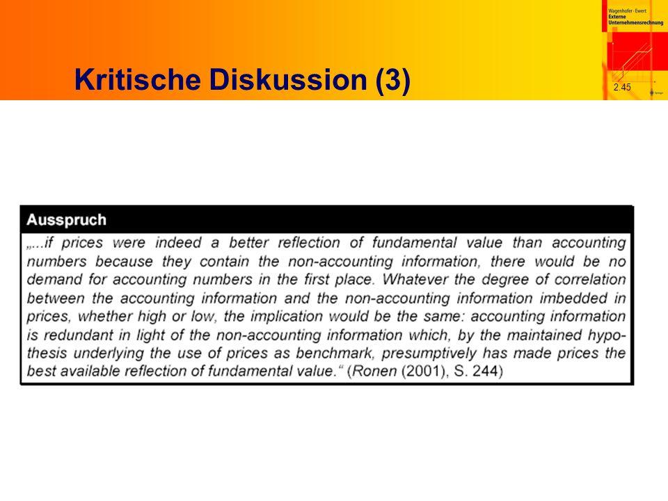 2.45 Kritische Diskussion (3)