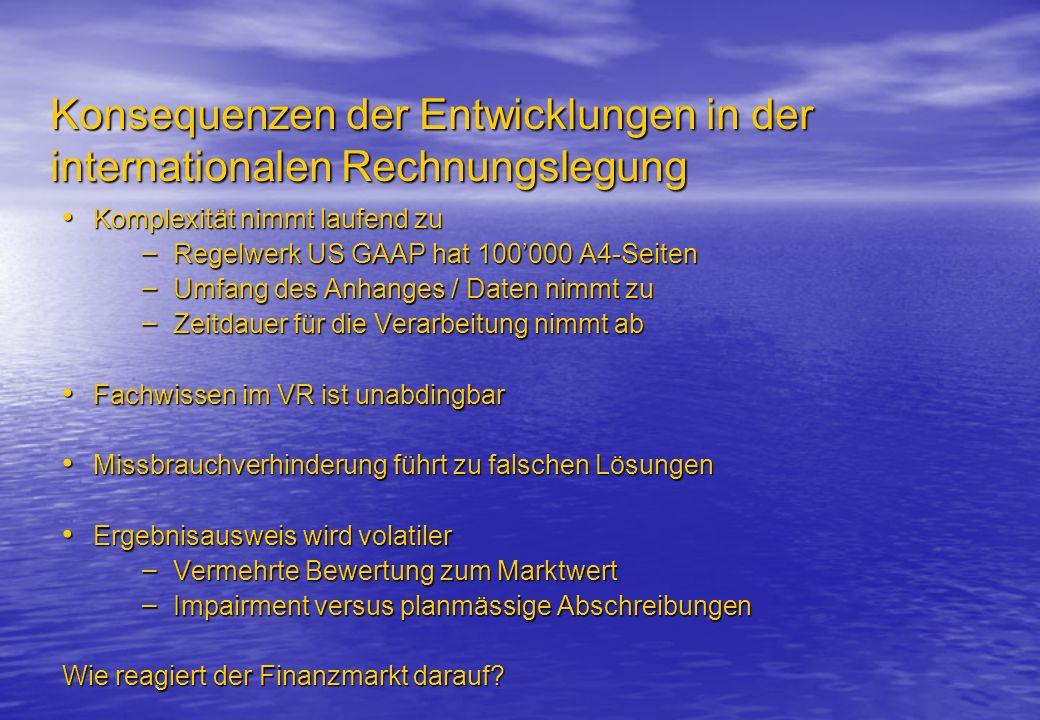 Entwicklungen in der nationalen Rechnungslegung Bundesgesetz über die Rechnungslegung (RLG) – Am 5.