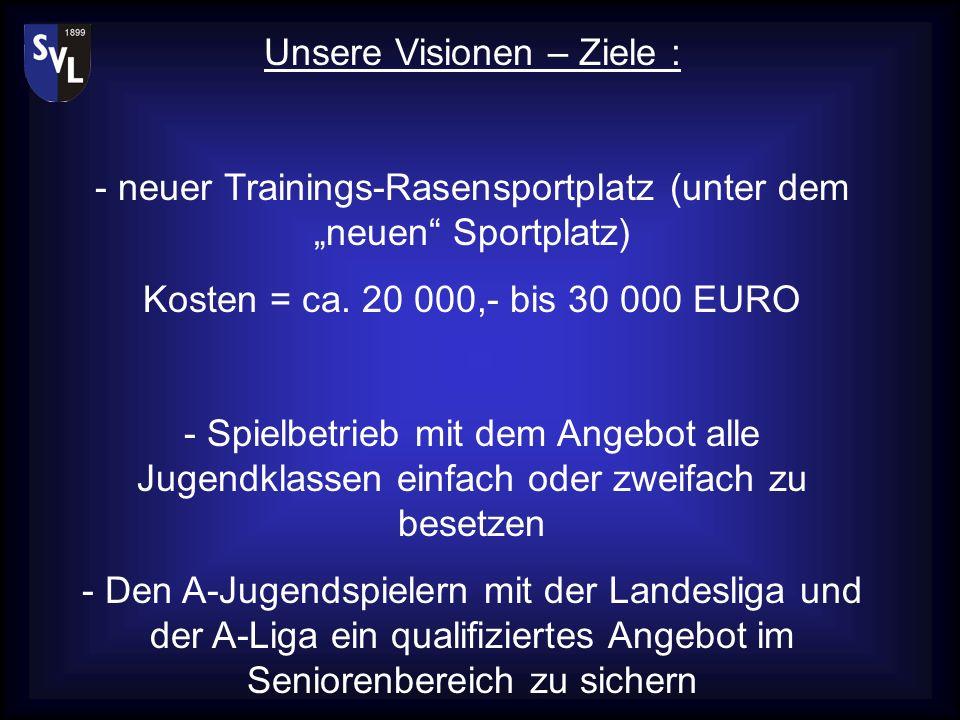 Die Sparte SVL – Fussball möchte gemeinsam mit Ihnen die Zukunft des Fussballs in Langensteinbach sicherstellen... Wir möchten weiterhin dieses hohe N