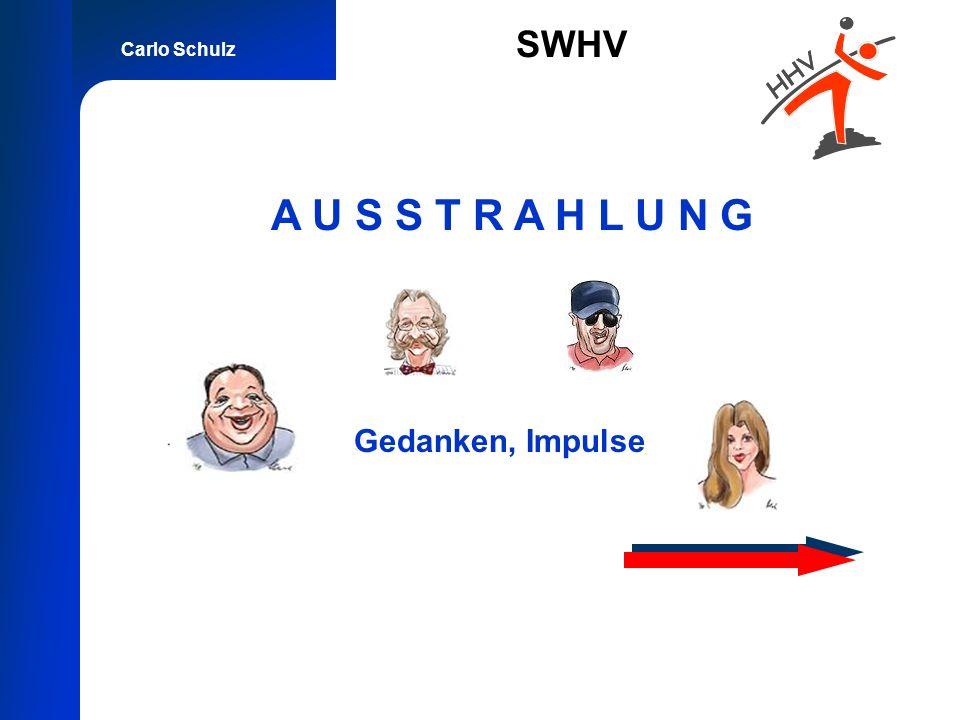 Carlo Schulz SWHV A U S S T R A H L U N G Gedanken, Impulse