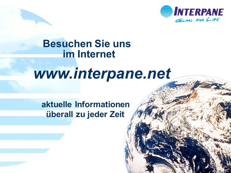 Referenten Service 2/2008_2 aktuelle Informationen überall zu jeder Zeit www.interpane.net Besuchen Sie uns im Internet