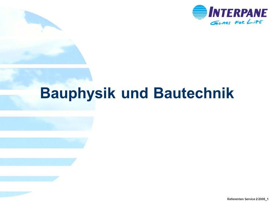 Referenten Service 2/2008_1 Bauphysik und Bautechnik