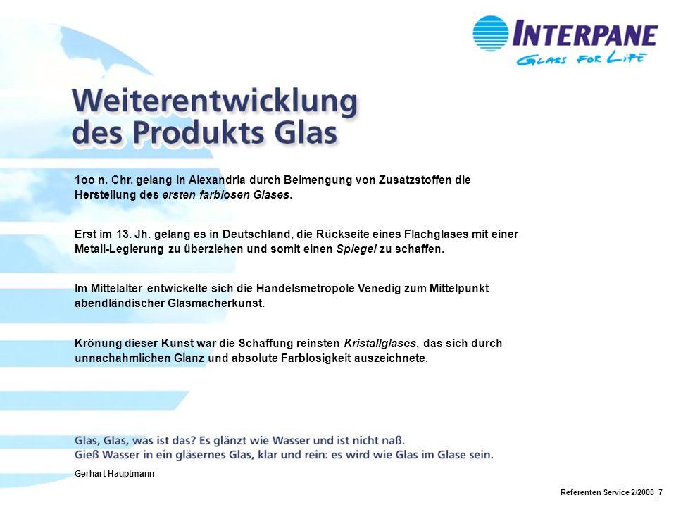 Referenten Service 2/2008_7 1oo n.Chr.