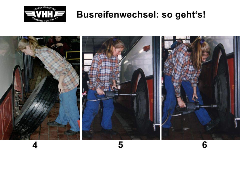 Busreifenwechsel: so gehts! 123