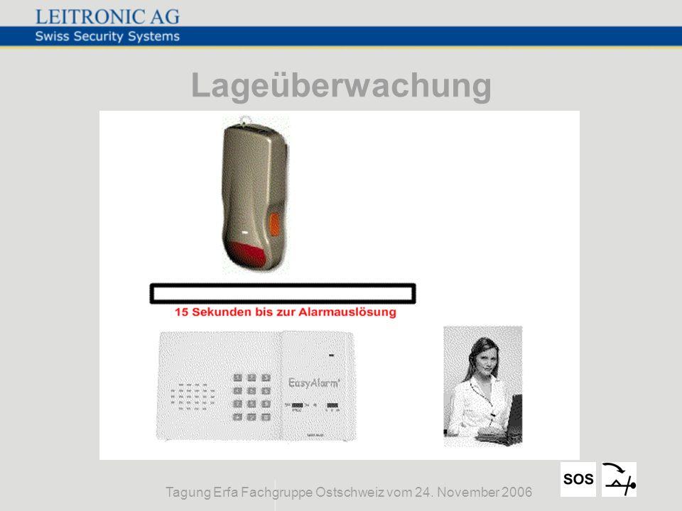 Tagung Erfa Fachgruppe Ostschweiz vom 24. November 2006 Lageüberwachung