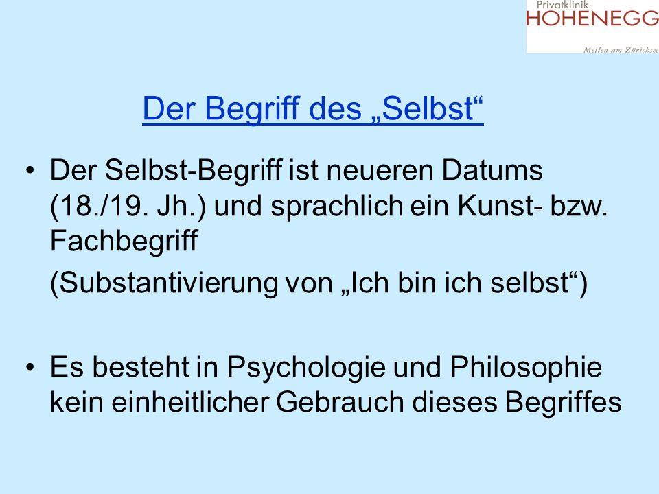 Das unhintergehbare SELBST (=Seele) SELBST als Seelengrund, als Resonanzraum (abzugrenzen von Selbst als Vorstellung von sich selber) Dieses SELBST (=Seele) ermöglicht eine Ich-Du- Beziehung und nicht nur eine Ich-Er-Beziehung (Martin Buber)
