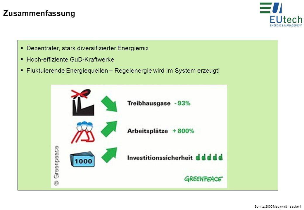 Bonitz, 2000 Megawatt – sauber.Beschäftigungseffekte Bau: 44.000 Arbeitsplätze: einmalig.