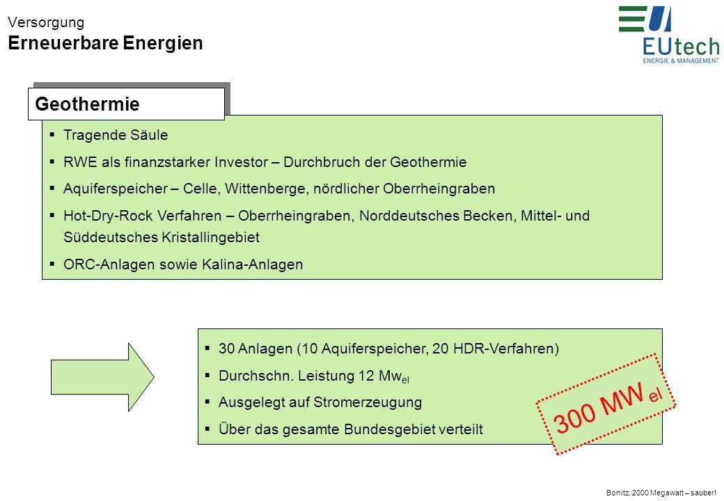 Bonitz, 2000 Megawatt – sauber.Vielen Dank.