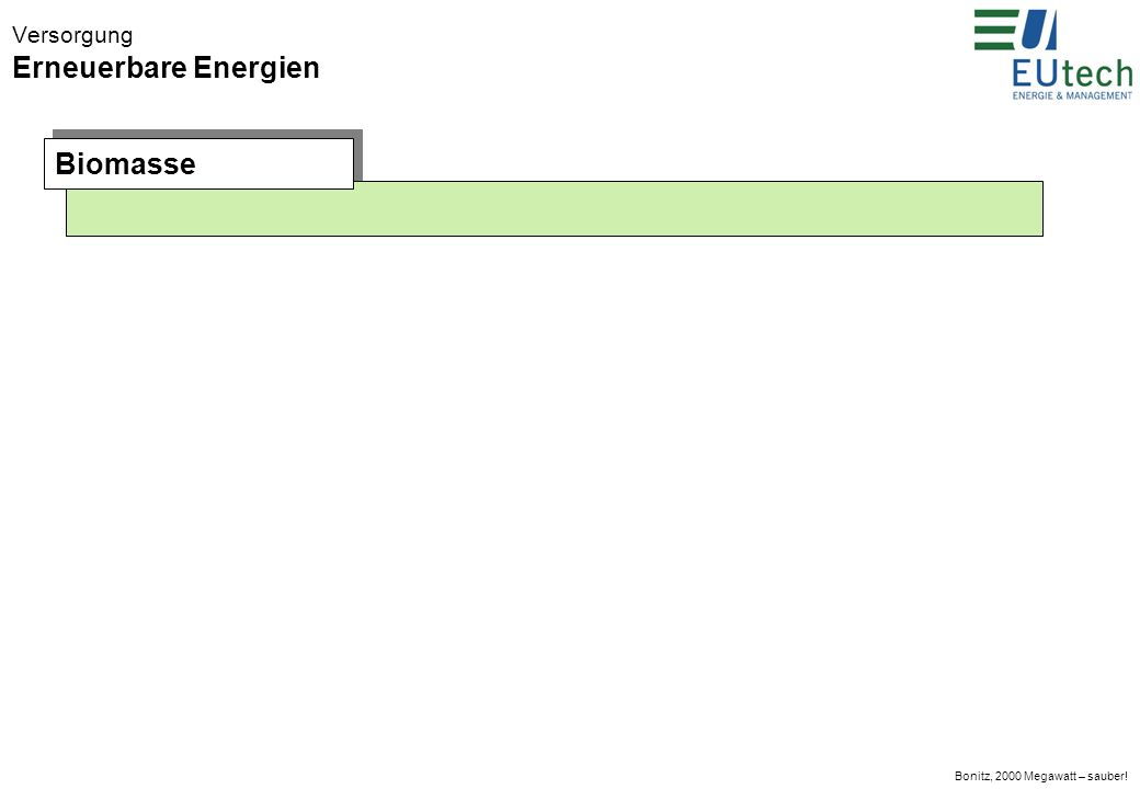 Bonitz, 2000 Megawatt – sauber! Versorgung Erneuerbare Energien Photovoltaik