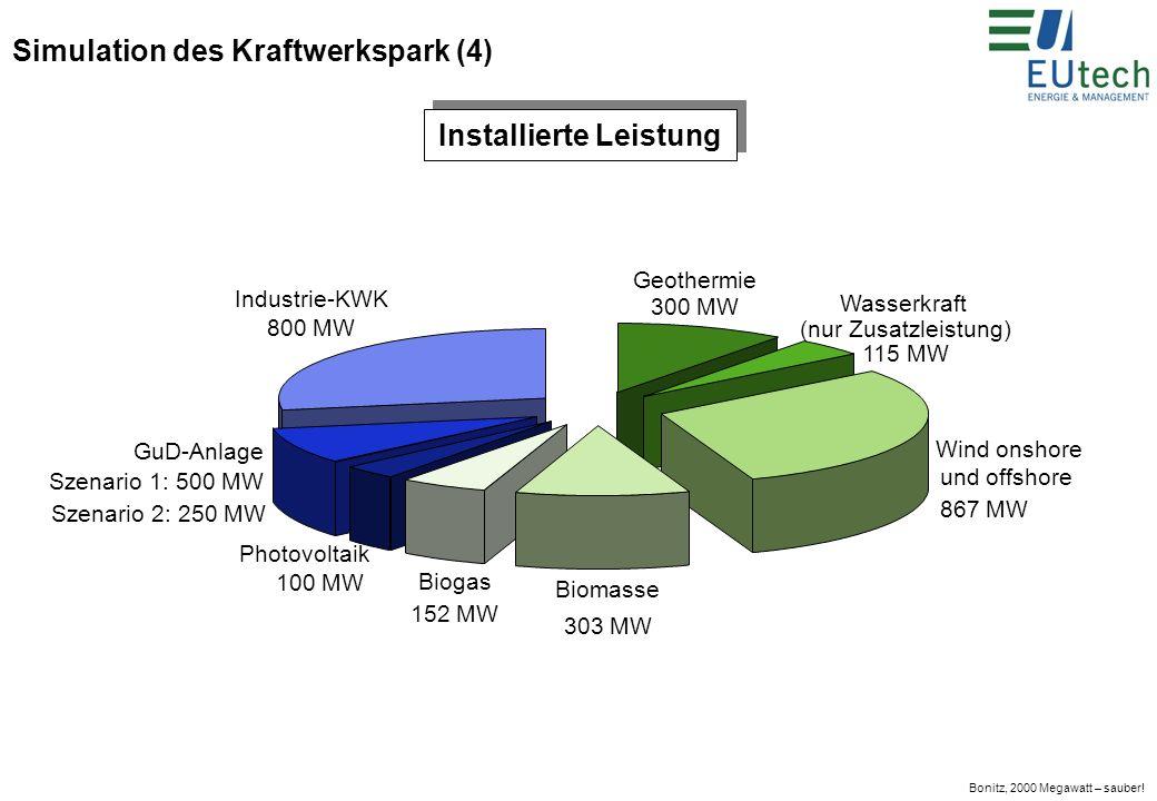 Bonitz, 2000 Megawatt – sauber.