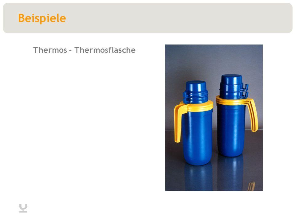 Beispiele Thermos - Thermosflasche