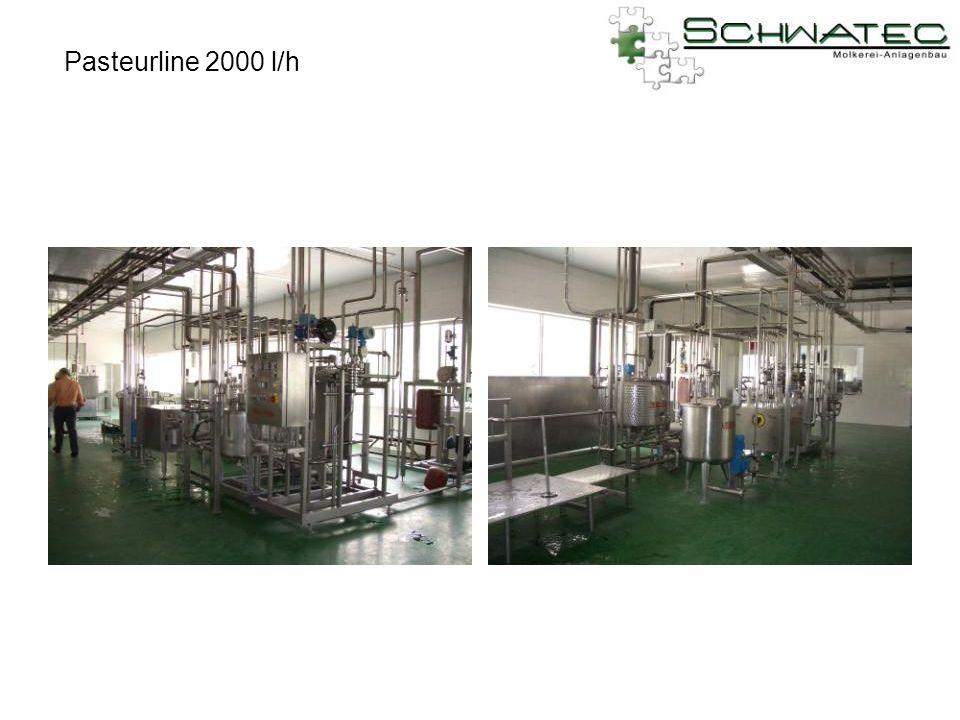 Pasteurline 2000 l/h