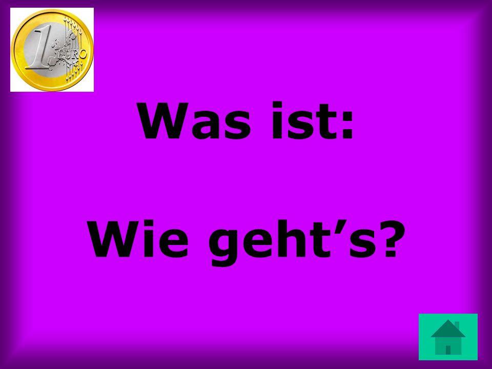 Kulturelles: Does pie exist in Germany?