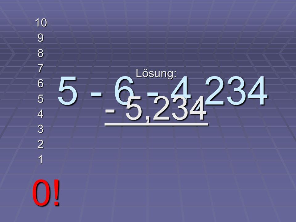 75 % von 400 g 10 9 8 7 6 5 4 3 2 1 0! Lösung: 100 g