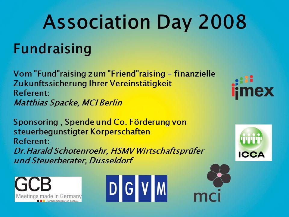 Association Day 2008 Fundraising Vom