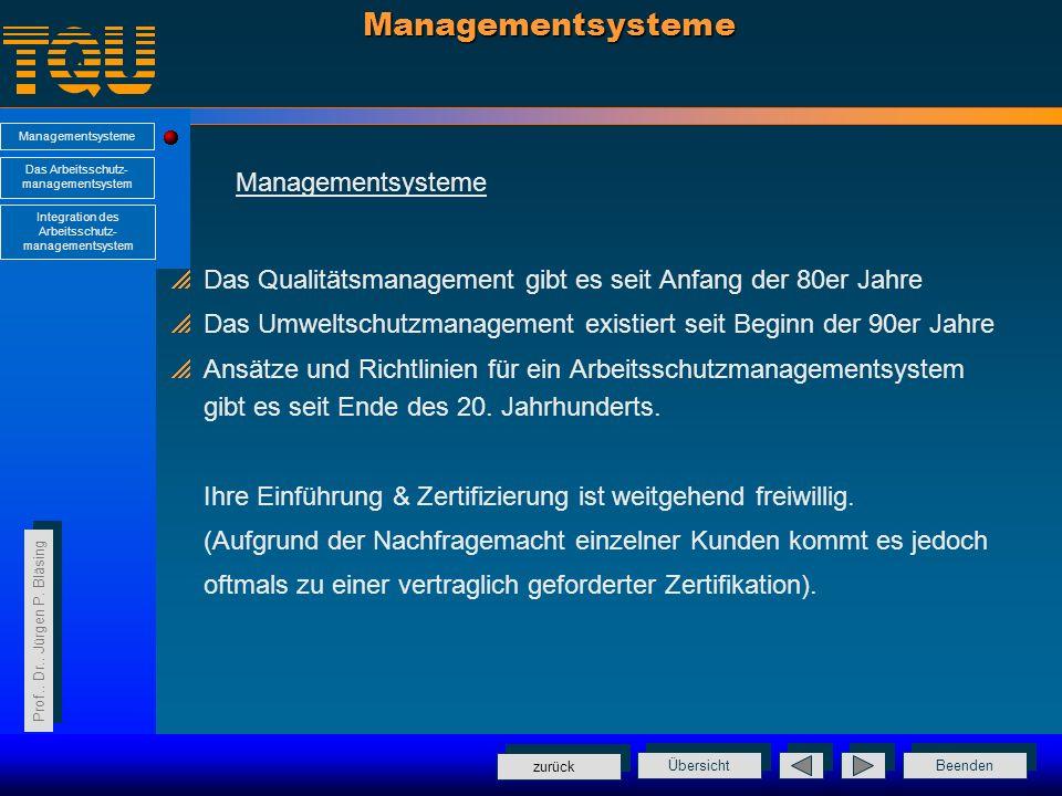 Steinbeis-Transferzentren Qualität im Unternehmen Prof.