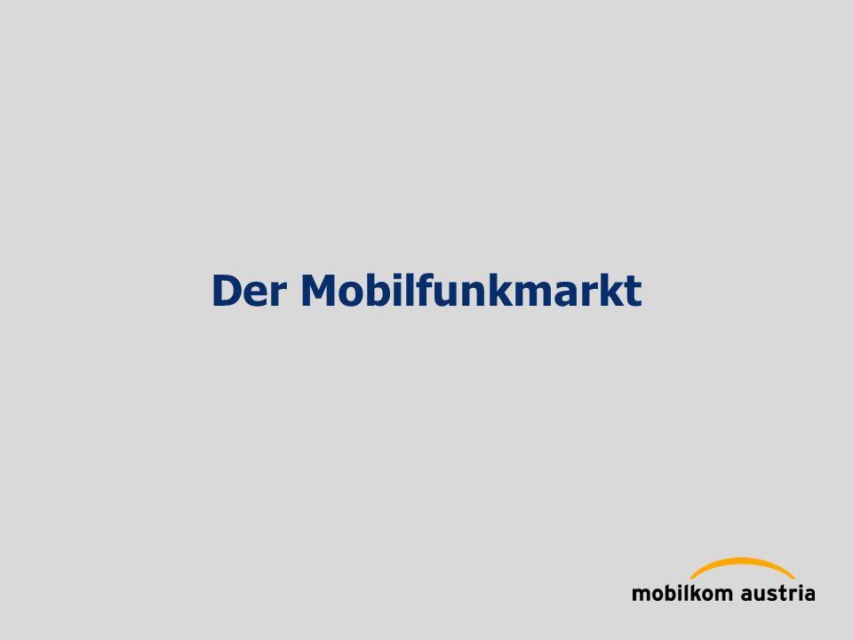 Der Mobilfunkmarkt