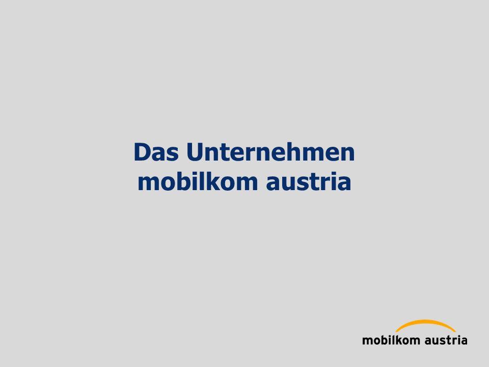 Das Unternehmen mobilkom austria