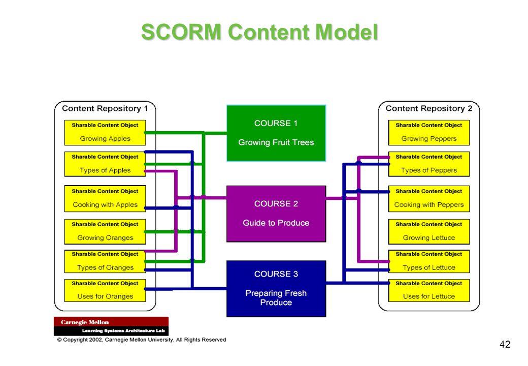 42 SCORM Content Model