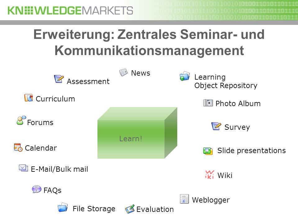 Assessment Forums E-Mail/Bulk mailCurriculum News Calendar Photo Album Survey Evaluation FAQsWebloggerFile Storage Slide presentations Learning Object