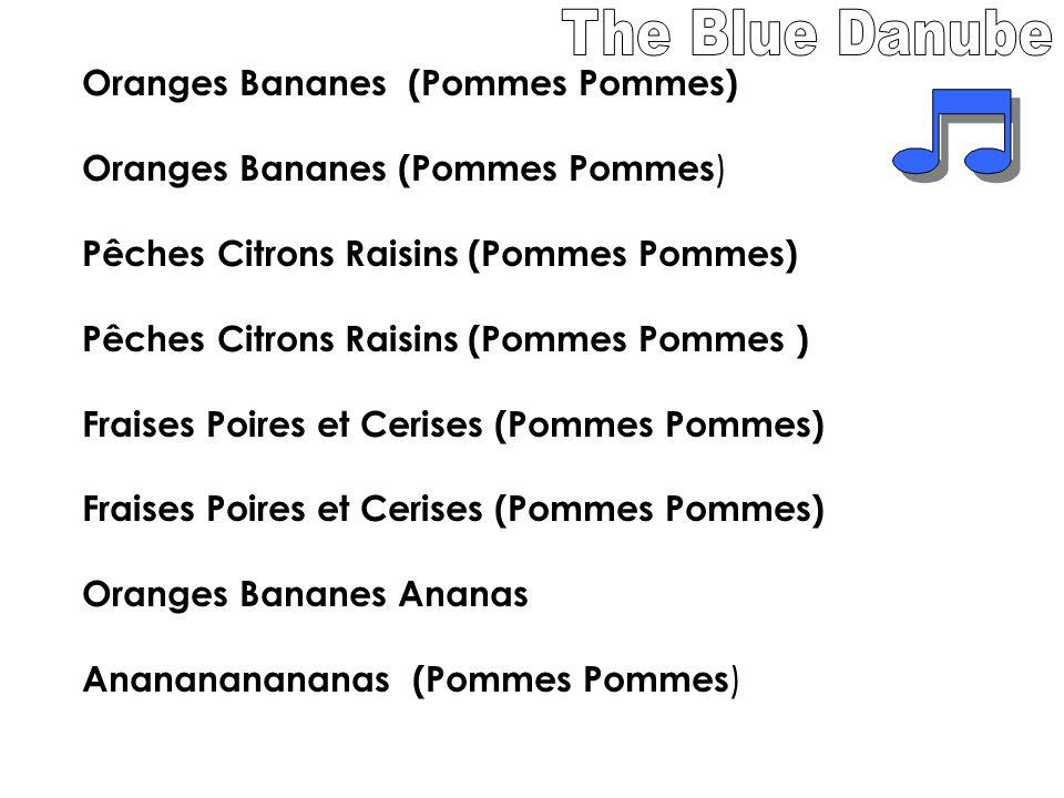 Oranges Bananes (Pommes Pommes) Pêches Citrons Raisins (Pommes Pommes) Fraises Poires et Cerises (Pommes Pommes) Oranges Bananes Ananas Ananananananas