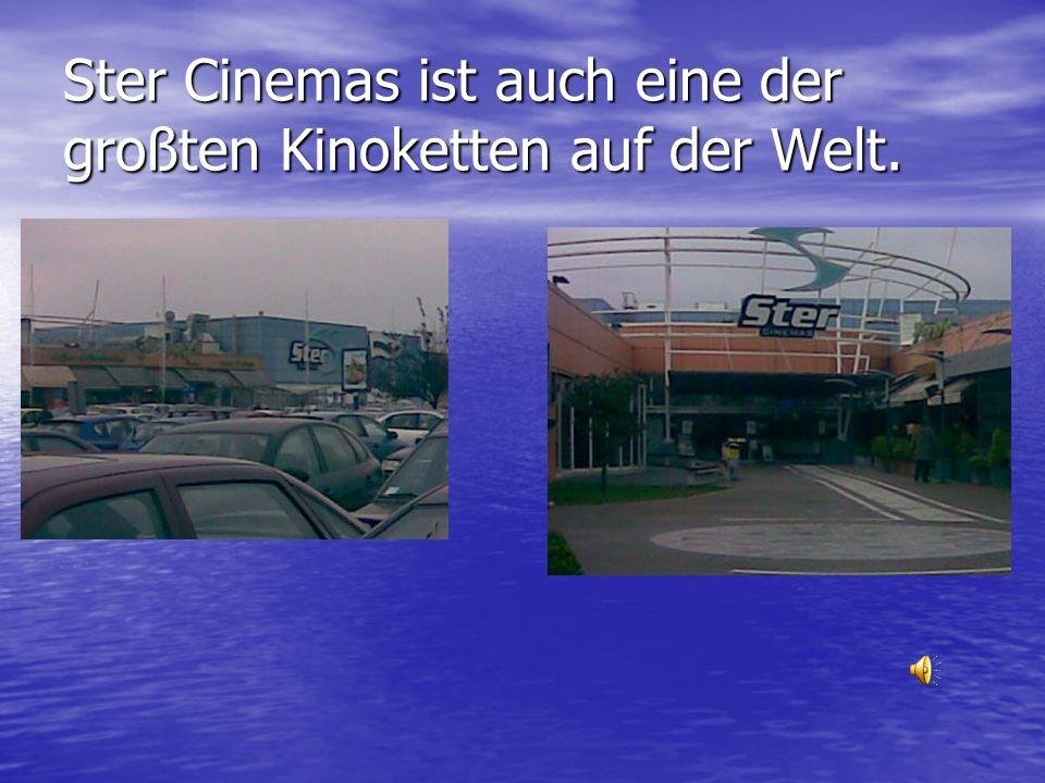 Ster Cinemas ist auch eine der großten Kinoketten auf der Welt.