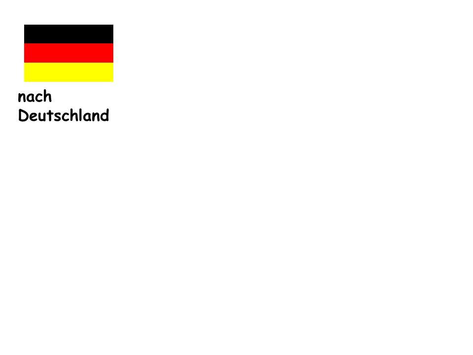 nach Deutschland