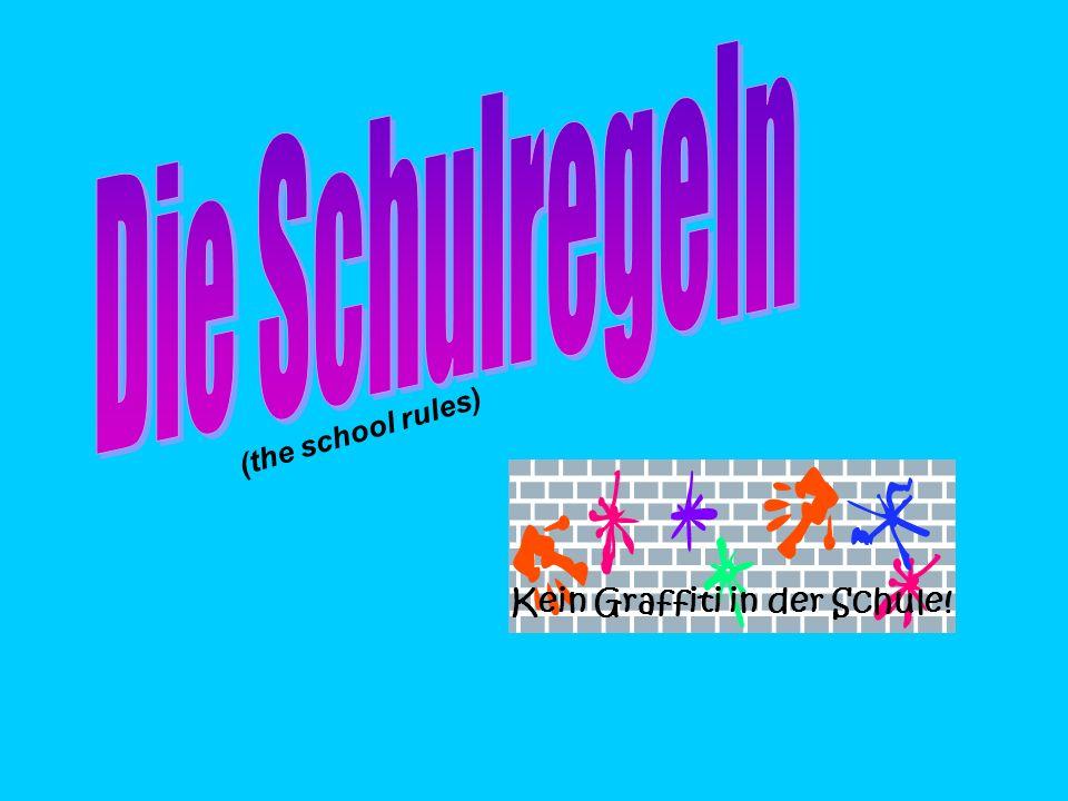 Look at these 2 sentences… Wirdürfen in der Schulerauchen Es ist verboten, zu in der Schulerauchen (we must not/we are not allowed to smoke in school) (it is forbidden to smoke in school) nicht