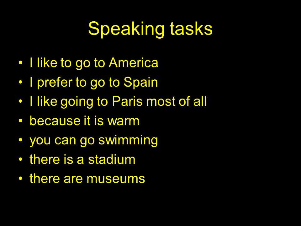 Listening task