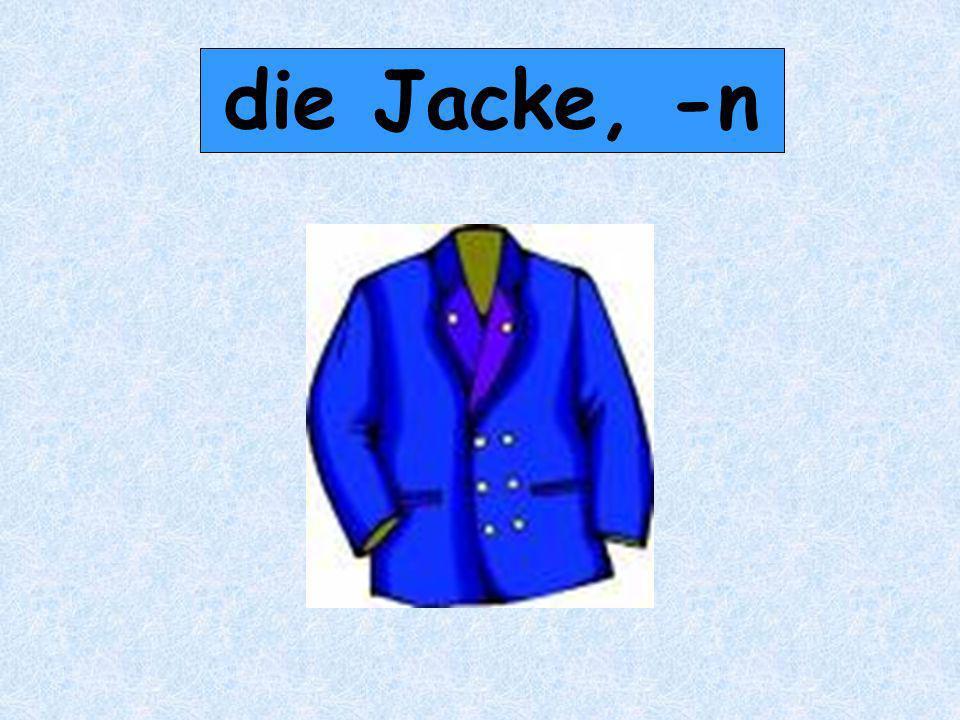 die Jacke, -n