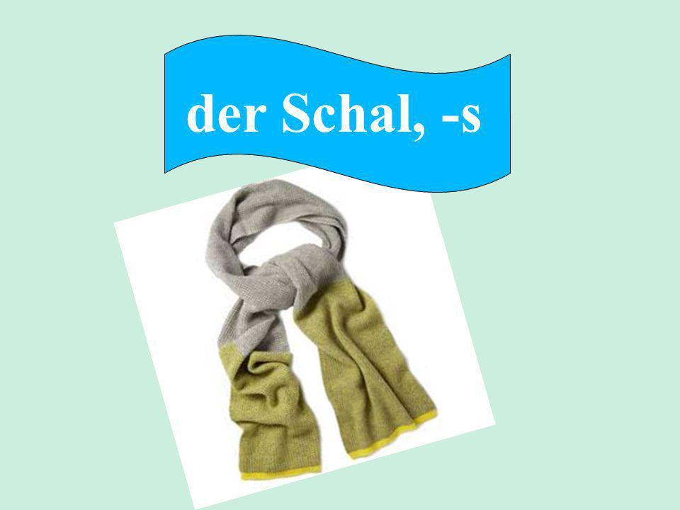 der Schal, -s