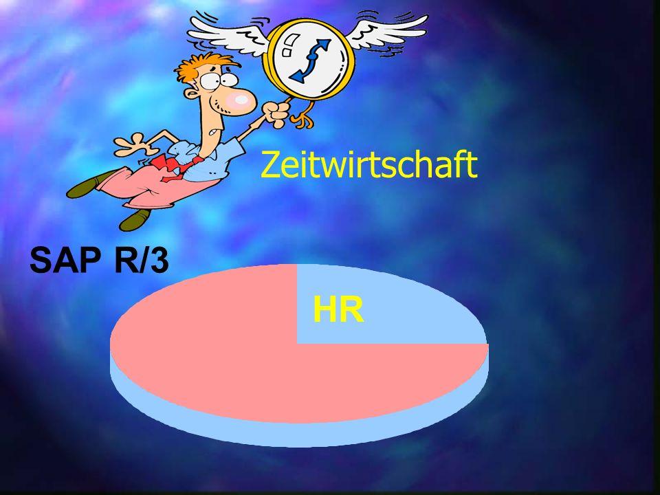 HR SAP R/3 Zeitwirtschaft