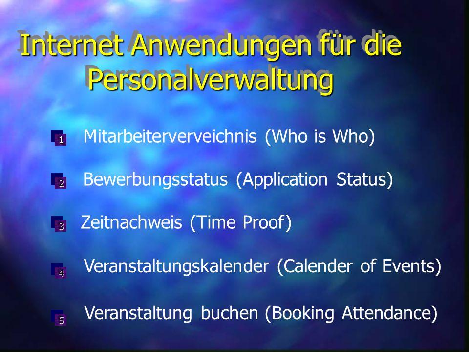 InhaltInhalt Einblick: SAP im Internet Internet-Anwendungen für die Personalwirtschaft Ausblick: SAP ab Version 4.0 Kritische Beurteilung der IACs