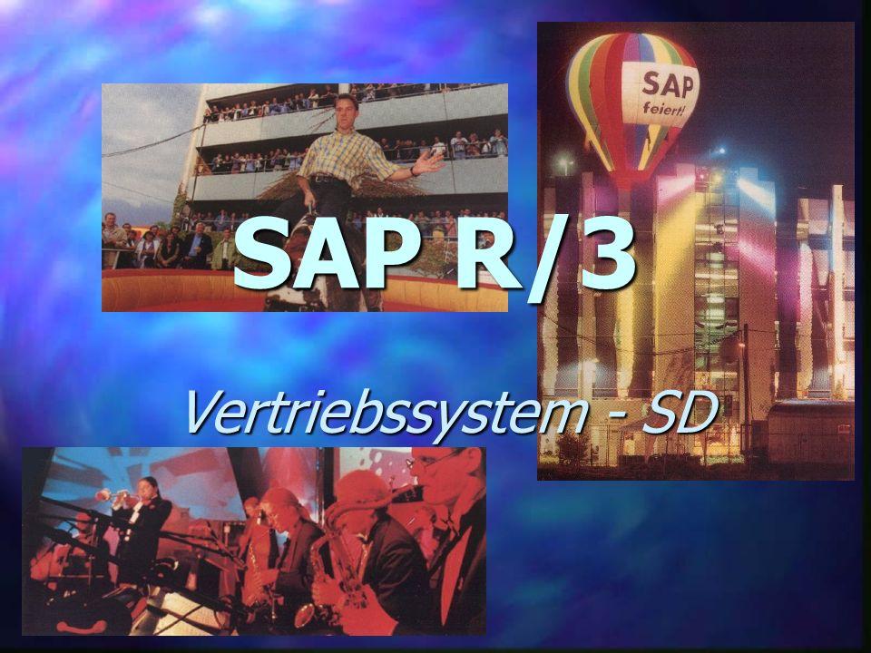 SAP R/3 Vertriebssystem - SD