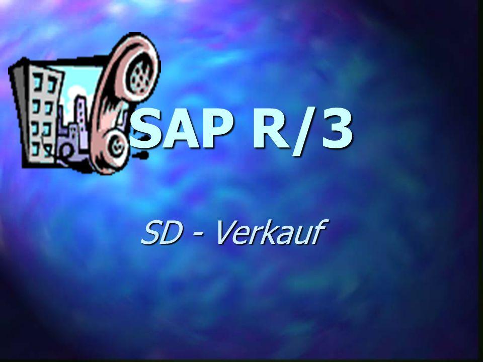 SAP R/3 SD - Verkauf