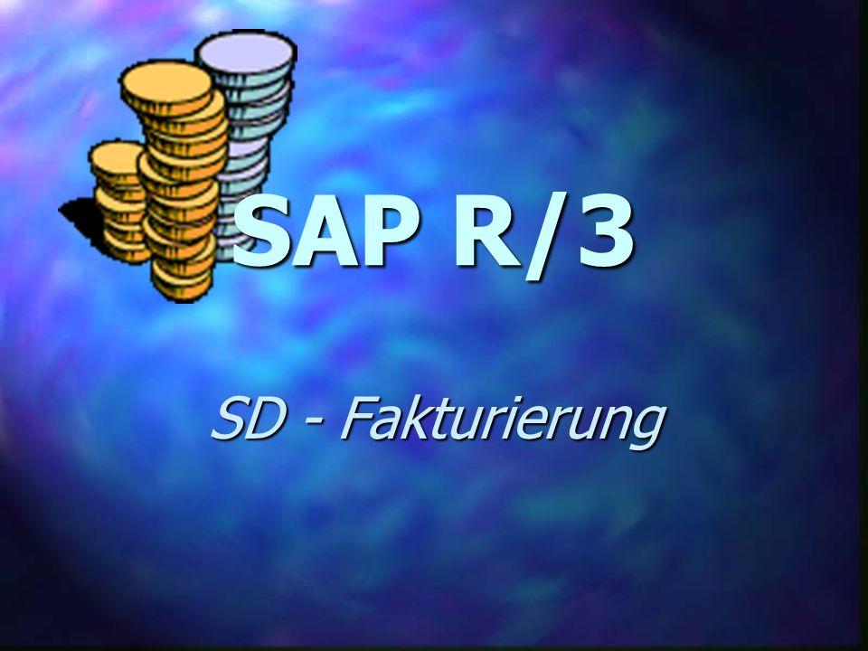 SAP R/3 SD - Fakturierung