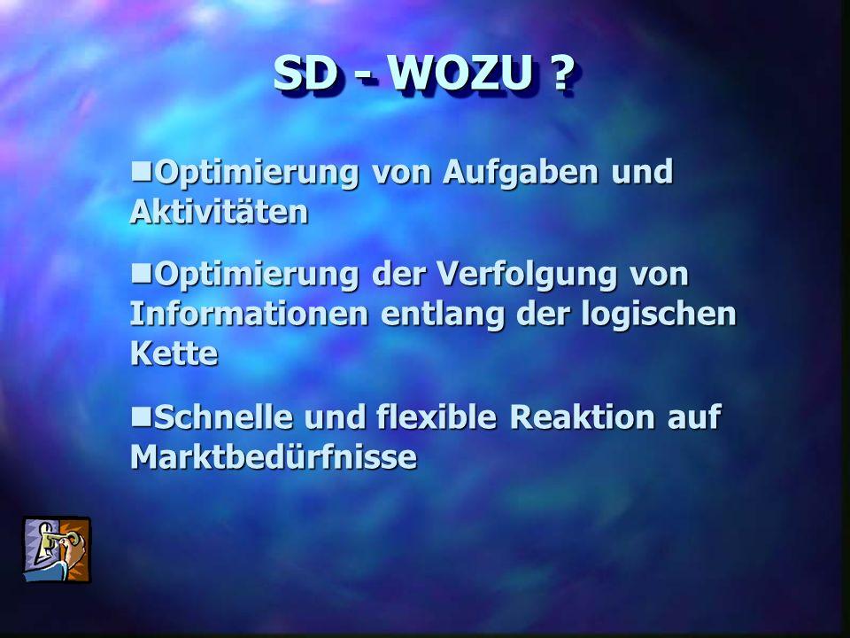 Optimierung der Verfolgung von Informationen entlang der logischen Kette Optimierung der Verfolgung von Informationen entlang der logischen Kette Opti
