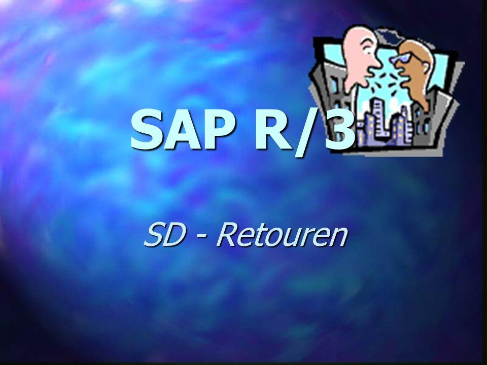 SAP R/3 SD - Retouren