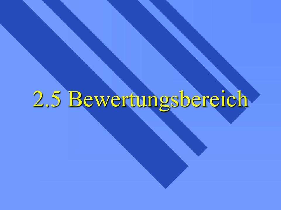2.5.1 Abgeleiteter Bewertungsbereich Aufbauregel - 01+02=03 Aufbauregel - 01+02=03 Mittelwertbereich (lineare-degressive Abschreibung) Mittelwertbereich (lineare-degressive Abschreibung)