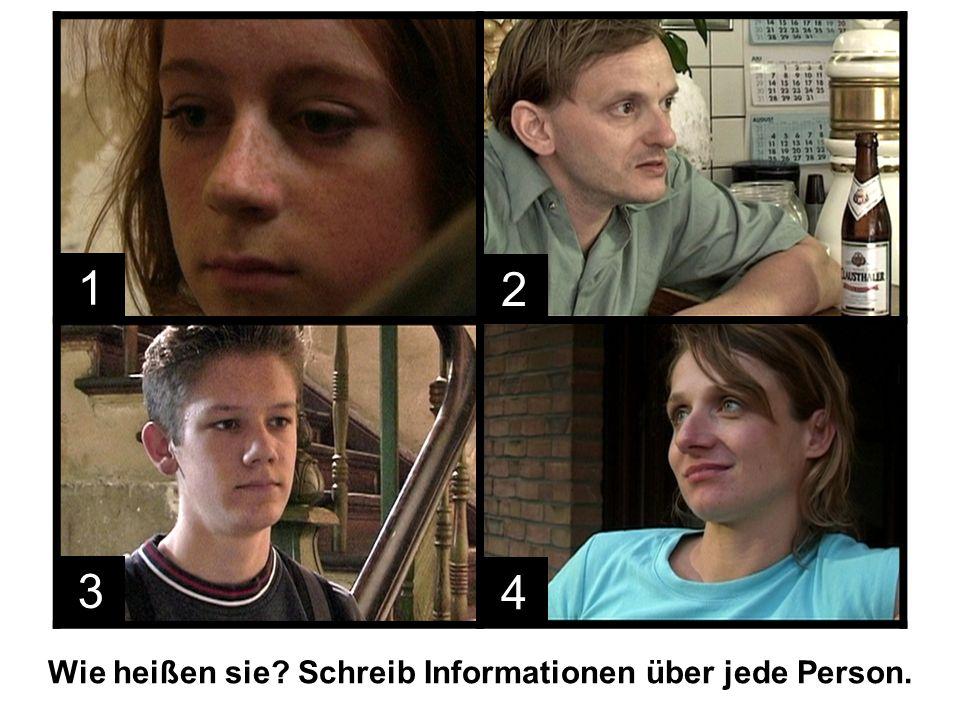 1.Sebastian besucht seinen Vater zum ersten Mal in drei Jahren und sagt, dass er bei Marcel wohnen will.