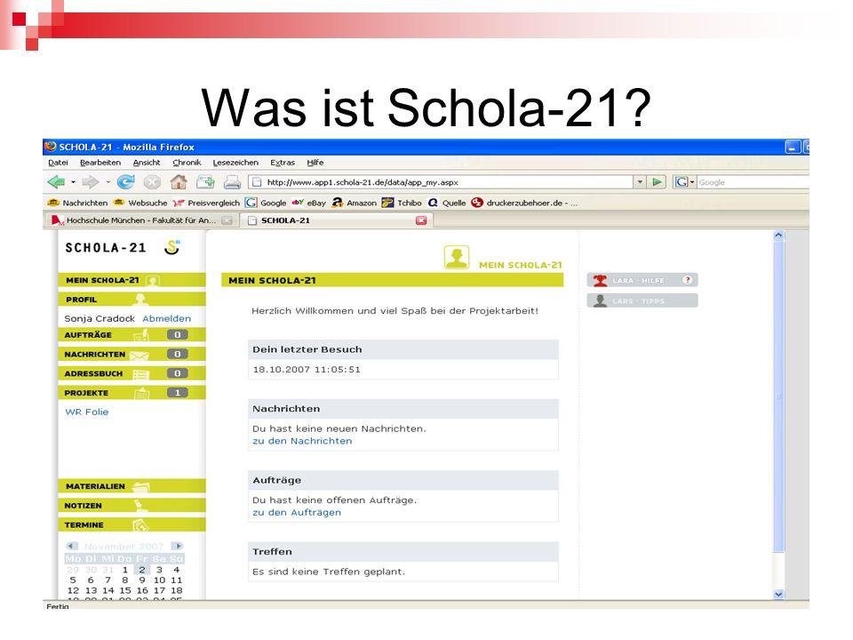 Was ist Schola-21