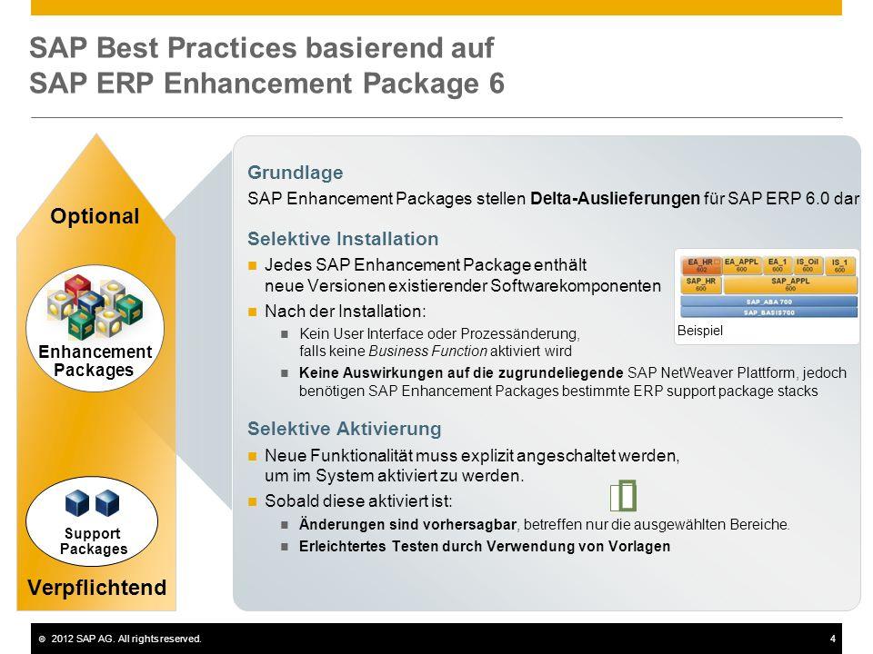 ©2012 SAP AG.All rights reserved.5 © 2012 SAP AG.
