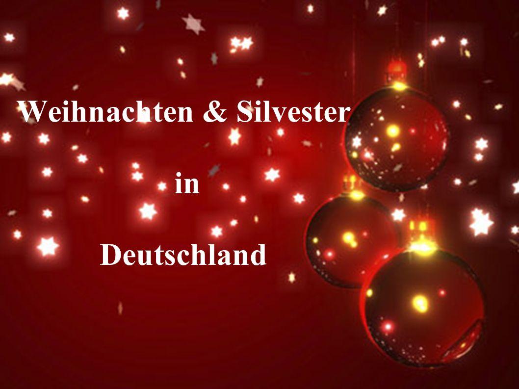 Weihnachten & Silvester in Deutschland