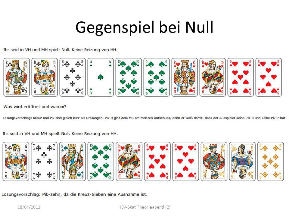 Gegenspiel bei Null 18/04/2012HSV-Skat Theorieabend (2)