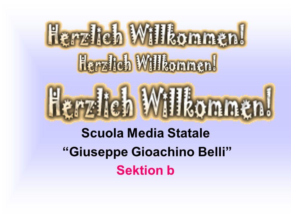 Scuola Media Statale Giuseppe Gioachino Belli Sektion b