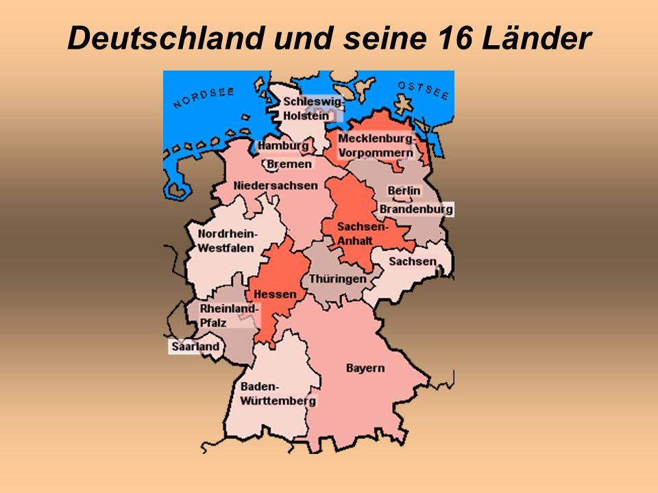 Deutschland und seine 16 Länder