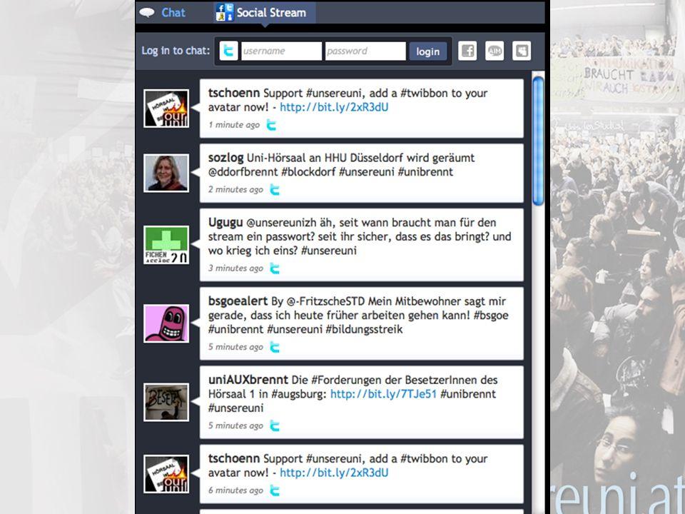 18 unsereuni.at Zahlen: 3 Server 5 Sprachen 200+ Autoren 1000+ Artikel 3000+ Kommentare 500.000 Besuche in der ersten Woche