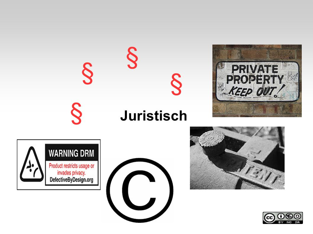 Juristisch § § § §