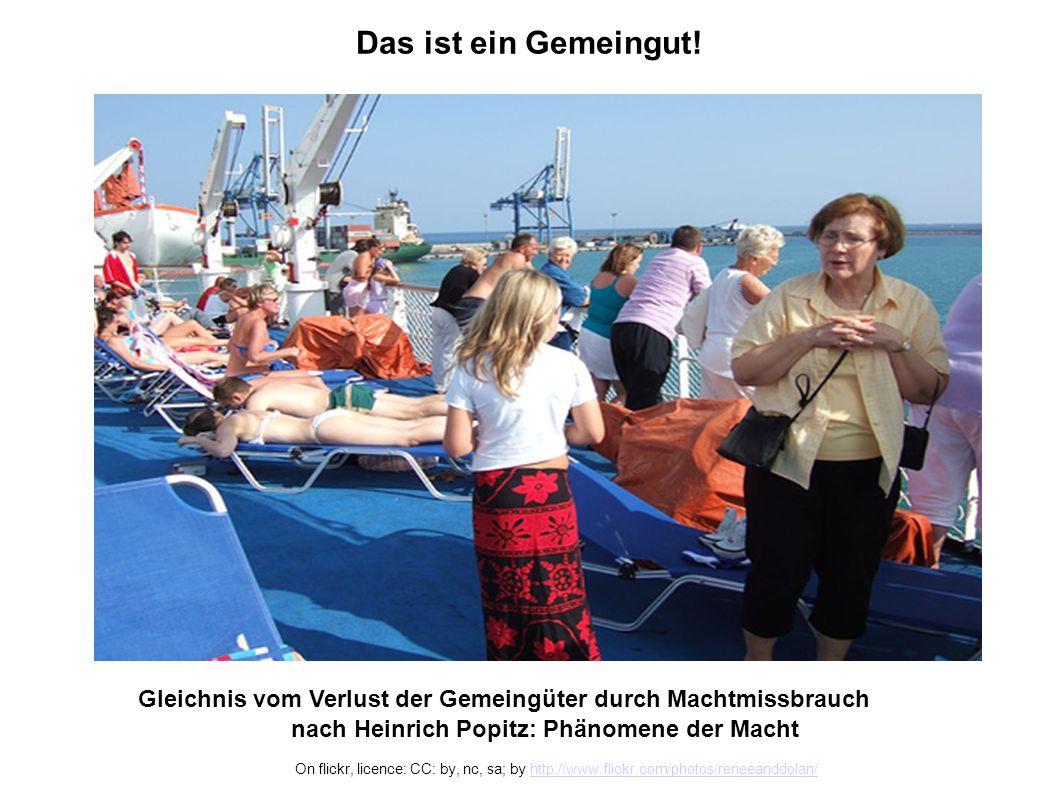 S.H., 22.02.2010Gemeingüter - Wohlstand durch Teilen Die Menschen wissen selbst am besten, was für sie gut ist.